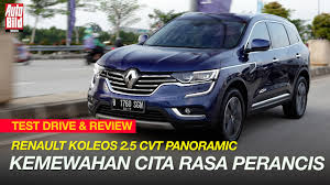 renault indonesia renault koleos 2 5 cvt panoramic test drive u0026 review auto bild
