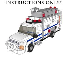 truck instructions purchase custom instructions nypd radio truck