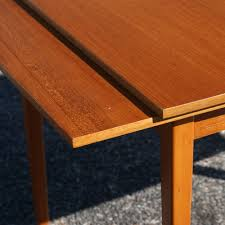 table with slide out leaves midcentury retro style modern architectural vintage furniture from