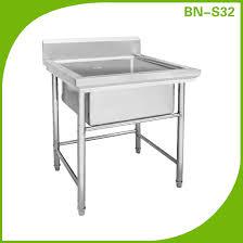 Kitchen Sink Basin by Cheap Stainless Steel Kitchen Wash Sink Basin Bn S32 Buy Wash