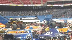 monster truck show houston 2015 pit party monster jam houston 2 12 2017 youtube