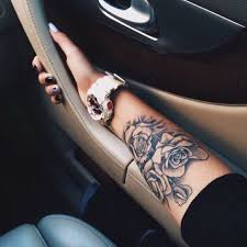 25 trending rose tattoo on forearm ideas on pinterest rose