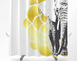 elephant shower curtain kids bathroom accessories elephant