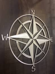 Star Home Decorations by Nautical Star And Compass Metal Wall Art And Home