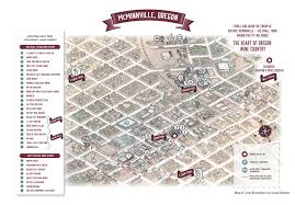 map of oregon wineries mcminnville oregon wine walk visit mcminnville