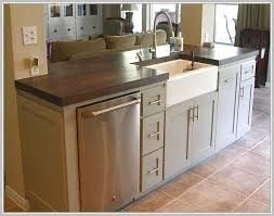 kitchen island with dishwasher small kitchen island with sink and dishwasher home design ideas
