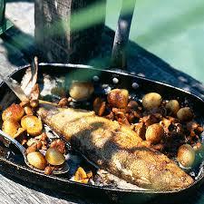 cuisiner une truite cuisine comment cuisiner la truite au four high definition