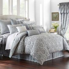110 X 96 King Comforter Sets Waterford Linens Aileen Natural 100 Cotton King Comforter 110