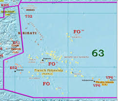 French Polynesia Map Itu Zones U0027 Maps Zone 63