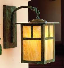 Mission Style Wall Sconce Mission Style Arroyo Craftsman Lights
