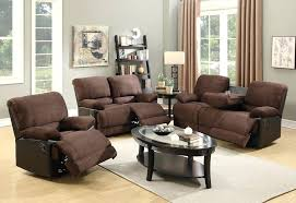 Microfiber Recliner Sofa by Chocolate Brown Microfiber Recliner Recliner Storage Arm Wall