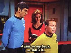 Star Trek Kink Meme - my edit star trek spock tos kirk space husbands kirk x spock edit