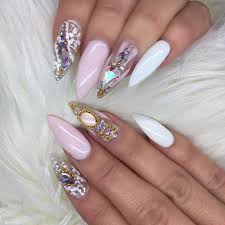 1700 best stiletto u0026 almond nail designs images on pinterest