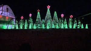 christmas light show 2016 jingle bells techno synchronized christmas light show to music
