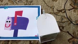 diy blue u0027s clues mailbox youtube