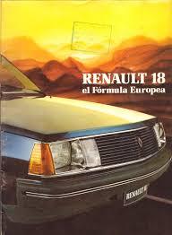 renault mexico renault 18 brochure
