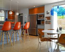 dining room burnt orange bar stools houzz 36 best kitchen images