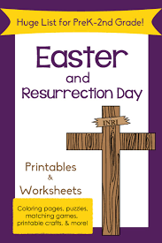 huge list of easter printables for preschool to 2nd grade mamas