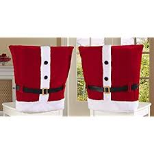 christmas chair covers santa hat christmas chair covers nicexmas set of 4
