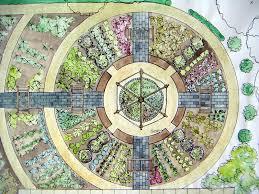 Kitchen Garden Designs Make A Circular Vegetable Garden Vegetable Garden Yards And Gardens