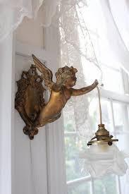 Home Interior Angel Figurines Ana Silk Flowers