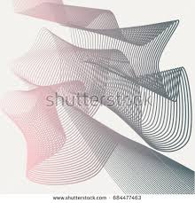 linear vector abstract art technology backgroundsteep stock vector