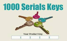all software serial number or product key