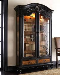 Black China Cabinet Hutch by A Trip Down Memory Lane Inspired By Old Fashioned Bookcases Book