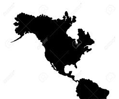 North America Continent Map by North America Earthquake Map Of Continent Stock Photo Picture