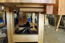 Woodworking Bench Vise Hardware by Twin Wooden Vise Lake Erie Toolworks Blog