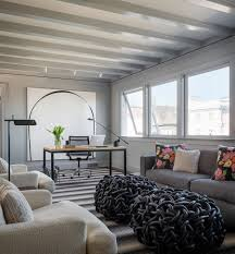Living Room Ceiling Colors by 30 Black And White Home Offices That Leave You Spellbound