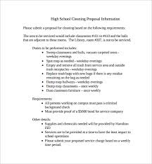 sample proposal for services sample cleaning proposal template 13 free documents in pdf
