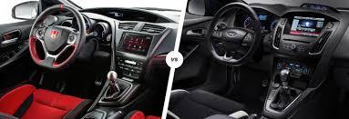 honda civic 2017 type r interior honda civic type r vs ford focus rs carwow