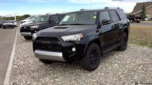 toyota 4runner 2017 black toyota 2019 2020 toyota 4runner black editions front view