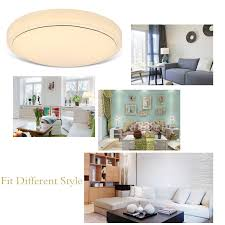 What Temperature Light For Living Room 18w Switch Dimmable Round Led Ceiling Light Room Fixture Lamp 3500