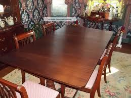 antique mahogany pedestal table mahogany dining room table stylish retro sets vintage set throughout
