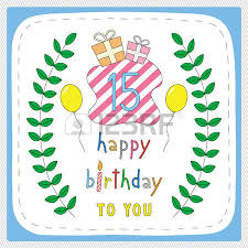 happy birthday card with 5th birthday and for 5 years anniversary