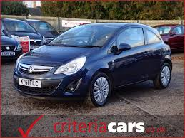 vauxhall corsa blue second hand vauxhall corsa excite ac for sale in ely