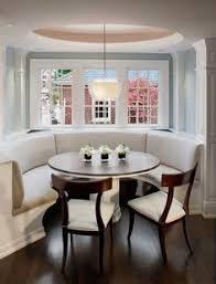 Bay Window Kitchen Nook Kitchen Bay Window Seat Design Ideas - Bay window kitchen table