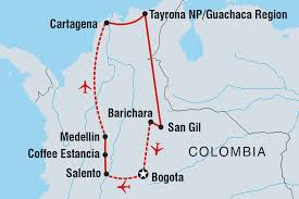 Colombia South America Map by Best Of Colombia Colombia Tours Intrepid Travel Au
