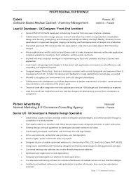 ui designer resume ui designer resume inspiration 10 cool resumes made by