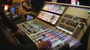 sound designer sound designer working on the sound on professional