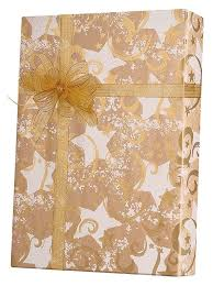 kraft christmas wrapping paper gold and swirls kraft gift wrap innisbrook wrapping paper