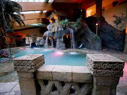 a family castle and fantasy indoor pool million dollar rooms hgtv