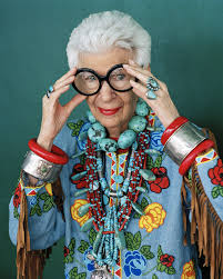iris apfel style icon and personification of individuality