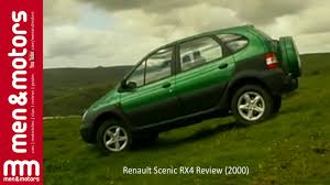 renault scenic 2002 renault scenic rx4 review 2000 youtube