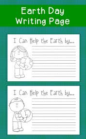 free earth day writing prompt classroom earth day pinterest