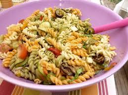 recette salade de pâtes aux légumes du soleil cuisinez salade de