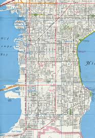 Map Tampa Florida by Florida Aaroads Florida 685 Henderson Boulevard