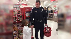 cmpd officers target help children buy christmas gifts for their
